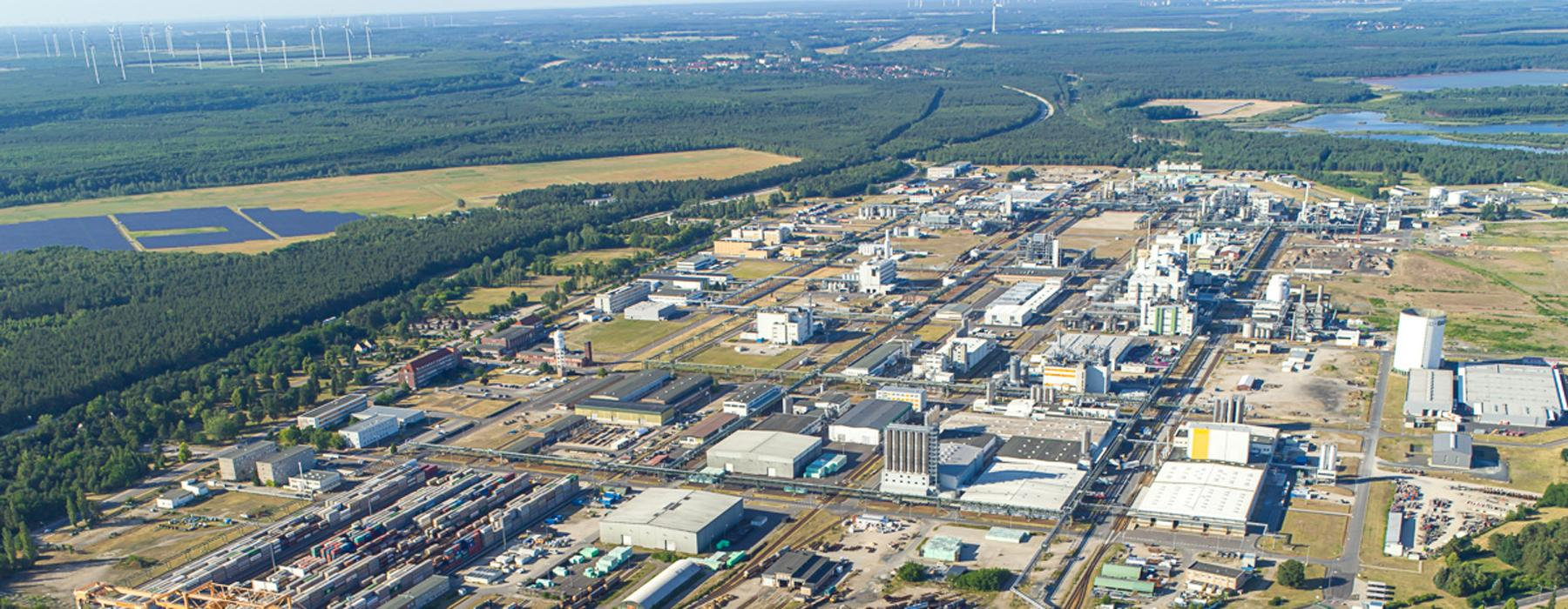 Aerial view of BASF