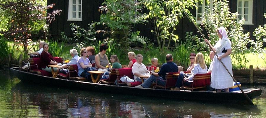 Boat trip in the Spreewald